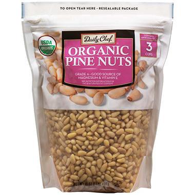Daily Chef Organic Pine Nuts 16 Oz Sam S Club
