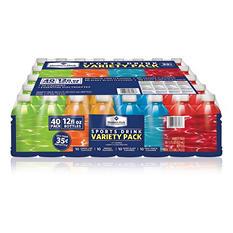 Member's Mark Sports Drink Variety Pack (12 oz. bottles, 40 pk.)