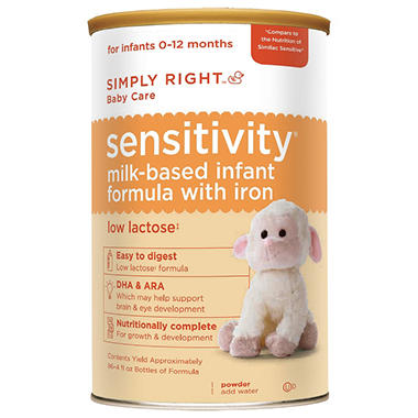 Simply Right - Sensitivity Infant Formula, 48 oz. - 1 pk.