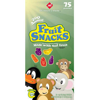 Member's Mark Fruit Snacks - 75 ct.