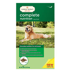 Simply Right Complete Nutrition Dog Food (55 lbs.)