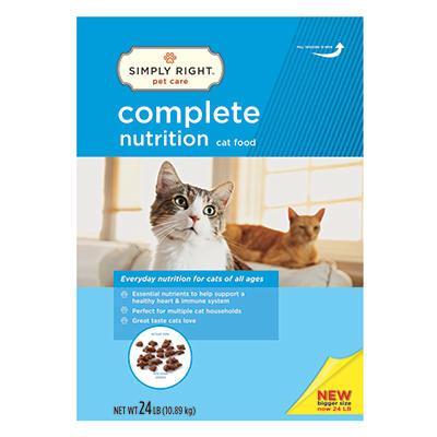 Simply Right Complete Nutrition Cat Food (24 lbs.)