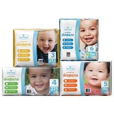 Member's Mark Premium Baby Diapers (Choose Your Size)