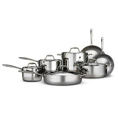 Member's Mark 12-Piece Tri-Ply Clad Stainless Steel Cookware Set