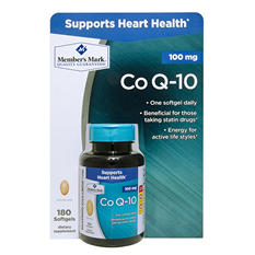 Member's Mark Co Q-10 100mg Dietary Supplement (180 ct.)