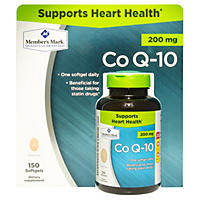 Member's Mark Co Q-10 200mg Dietary Supplement (150 ct.)