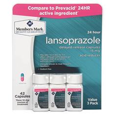Member's Mark 15 mg Lansoprazole Acid Reducer (14 ct., 3 pk.)