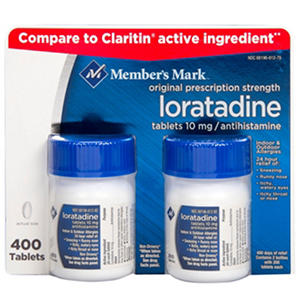 Member's Mark 10 mg Loratadine (200 ct., 2 pk.)