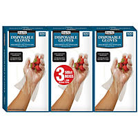 Daily Chef Plastic Disposable Gloves (1,500ct.)
