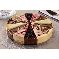 Daily Chef Seven Flavor Sampler Cheesecake