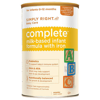 Simply Right Complete Infant Formula - 48 oz.