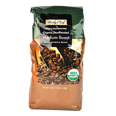 Member's Mark Finest Organic Decaffeinated Coffee - 2.5 lbs.