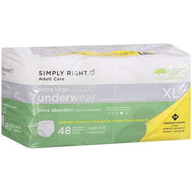 Simply Right Adult Undergarments