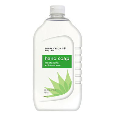 Simply Right Aloe Soap, 80 oz. - 2 pk.