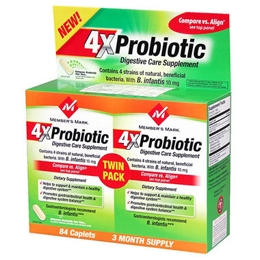Member's Mark® 4X Probiotic - 84 ct.