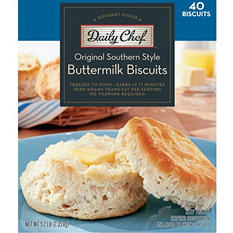 Daily Chef™ Original Southern Buttermilk Biscuits - 40 ct.