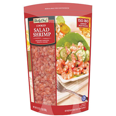 Daily Chef? Cooked Salad Shrimp - 32 oz.