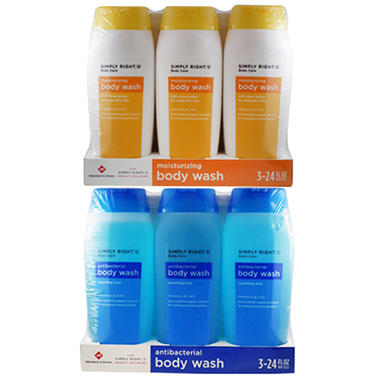 Simply Right Bodywash, 24 oz. - 3 pk.