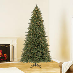 9 ft Member's Mark Artificial Pre-Lit Lansing Pine Christmas Tree
