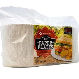 "Daily Chef Heavy Duty 9"" Paper Plate (600ct.)"