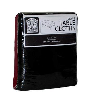 Bakers & Chefs Tablecloths - 2 pk.
