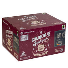 Daily Chef Colombian Supremo Coffee (100 single-serve coffee pods)