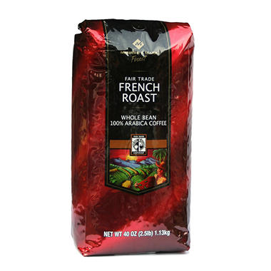 Member's Mark� French Roast Wholebean Coffee - 40 oz.