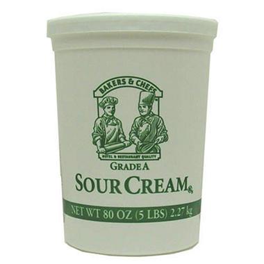 Bakers & Chefs Sour Cream - 80 oz.