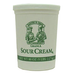 Bakers & Chefs Sour Cream - 80 oz.