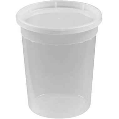 Bakers & Chefs Deli Container and Lid - 32 oz. - 250 ct.