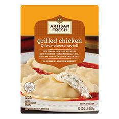 Artisan Fresh Grilled Chicken & Four-Cheese Ravioli - 32 oz.