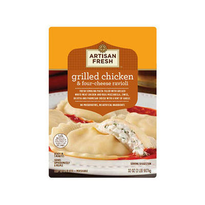 Artisan Fresh Grilled Chicken & Four-Cheese Ravioli - 32 oz.