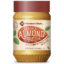 Member's Mark Almond Butter (24 oz. jar)