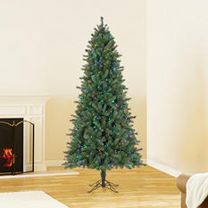 7.5 ft Member's Mark Artificial Pre-Lit Color-Changing Virginia Pine Christmas Tree