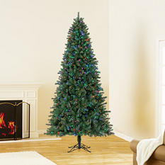 9 ft Member's Mark Artificial Pre-Lit Coloring-Changing Virginia Pine Christmas Tree