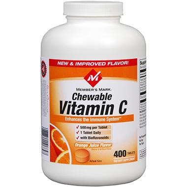 Member's Mark® Chewable Vitamin C