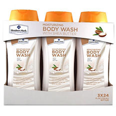 Member's Mark Moisturizing Body Wash with Shea Butter (24 fl. oz., 3 pk.)