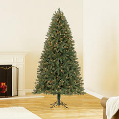 7.5 ft Member's Mark Artificial Pre-Lit Scotch Pine Christmas Tree