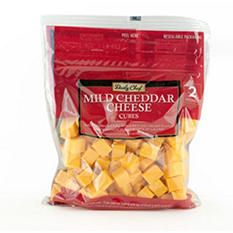 Artisan Fresh Mild Cheddar Cheese Cubes - 2 lb.