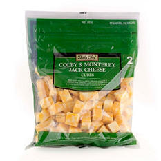 Artisan Fresh Colby Jack Cheese Cubes - 2 lb.