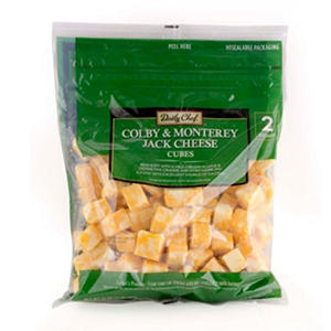 Daily Chef Colby Jack Cheese Cubes ( 2 lb.)