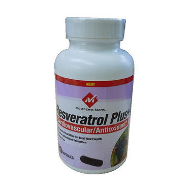 Member's Mark� Resveratrol - 100mg - 120 ct.