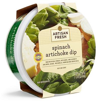 Artisan Fresh Spinach Artichoke Dip (24 oz.)