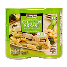 Daily Chef Premium Chunk Chicken Breast (13 oz., 6 ct.)