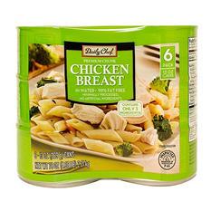 Daily Chef Premium Chunk Chicken Breast (13 oz., 6 ct.)