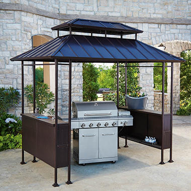 Members Mark Fairbanks Grill Gazebo Sams Club