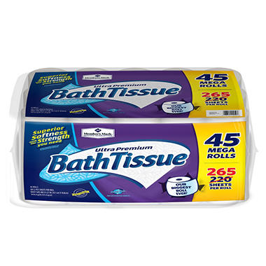 Member S Mark Bath Tissue Ultra Premium 2 Ply 265 Sheets