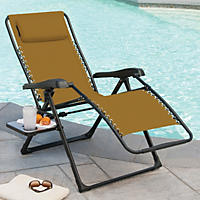 Members Mark XL Sunbrella Reclining Chair, Beige