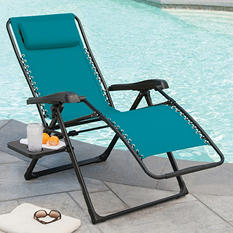 Member's Mark Anti-Gravity Chair, Teal