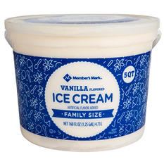 Daily Chef Vanilla Ice Cream (5 qt.)